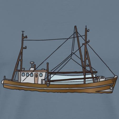 Fischerboot c - Männer Premium T-Shirt