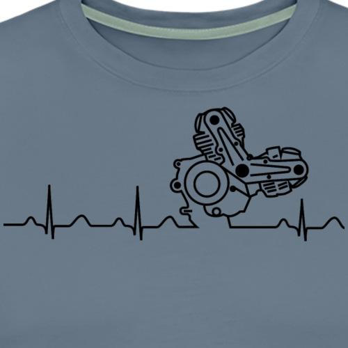 Ducati Heartbeat schwarz - Männer Premium T-Shirt