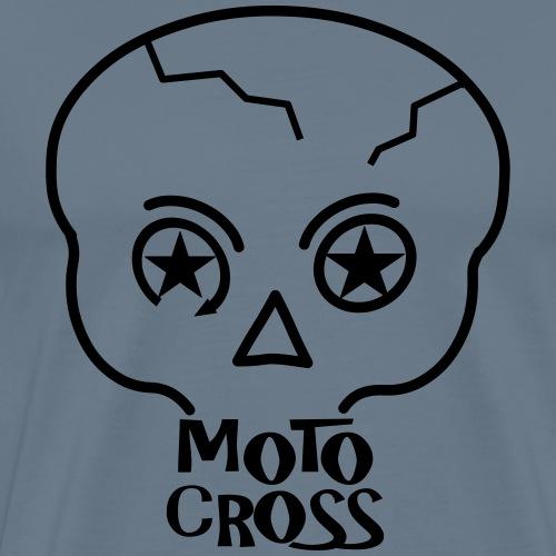 MX Skull No.5 - Männer Premium T-Shirt