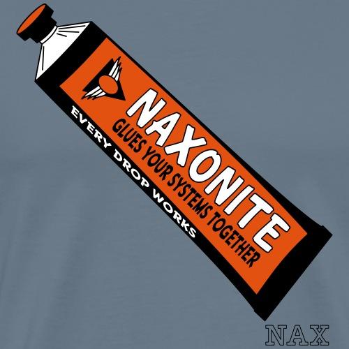 naxonite - Premium-T-shirt herr