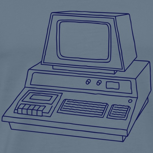 Personal Computer PC - Männer Premium T-Shirt