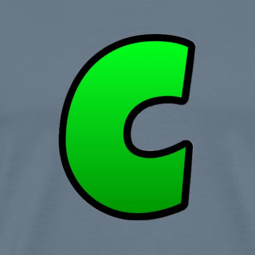 C-Logo Green - Männer Premium T-Shirt
