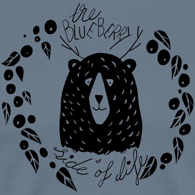 Blaubär liebt Blaubeeren Skandinavien Geschenk