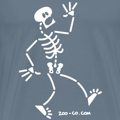 Frightened Skeleton - Men's Premium T-Shirt