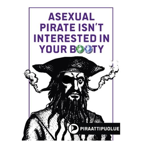 Asexual - Miesten premium t-paita