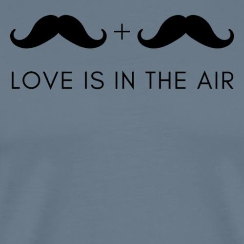 flirtshirt LOVE IS IN THE AIR - Männer Premium T-Shirt