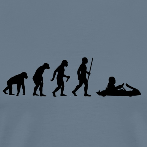 Kartevolution - Männer Premium T-Shirt