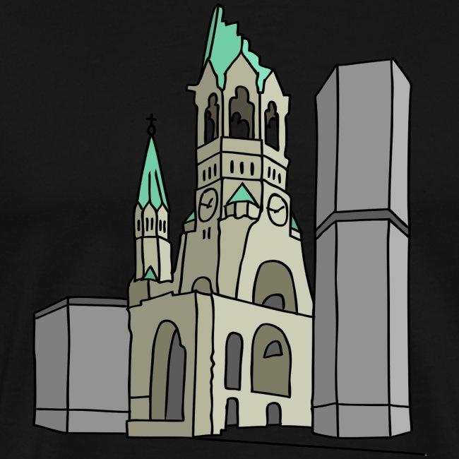 Chiesa dell'Imperatore Guglielmo Berlin c