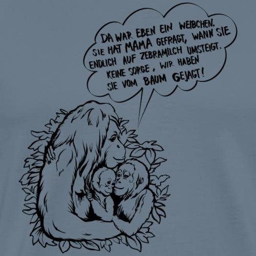 Natürlich stillen mit Humor! - Männer Premium T-Shirt