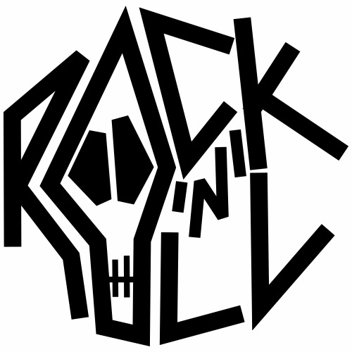 Rock'n'Roll crâne - T-shirt Premium Homme