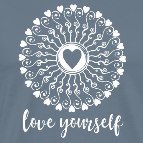 love yourself mandala - Männer Premium T-Shirt