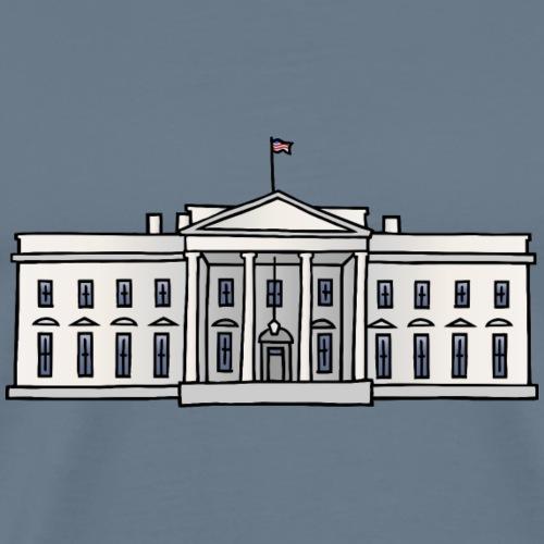 The White House Washington DC - Maglietta Premium da uomo