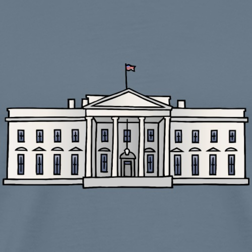 Weiße Haus Washington DC - Koszulka męska Premium
