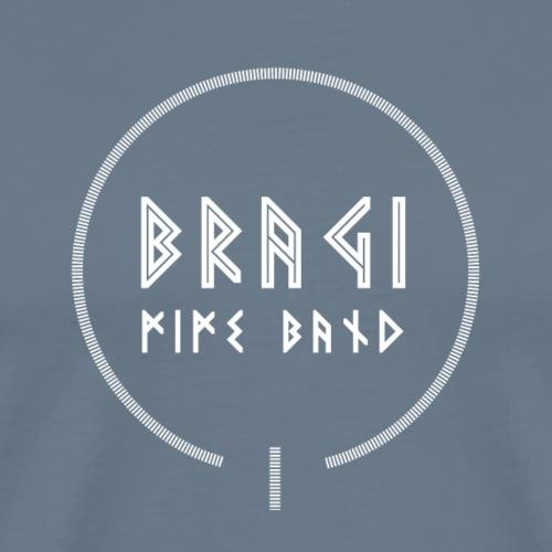 Bragi 2018/2019 Logo White - Herre premium T-shirt
