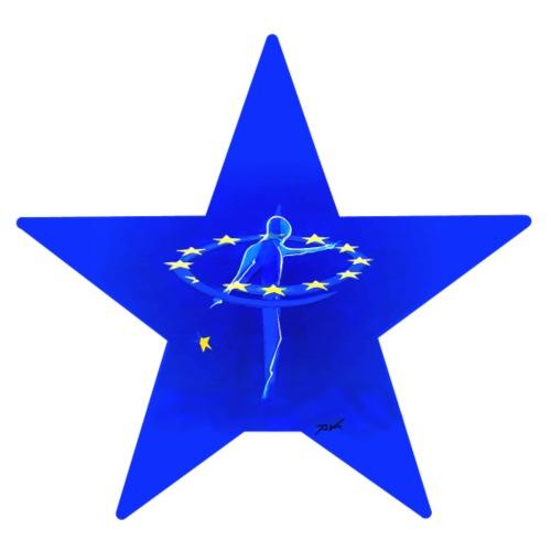 Star of unity - Männer Premium T-Shirt