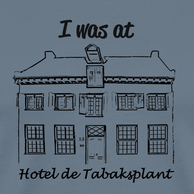 I was at Hotel de Tabaksplant BLACK
