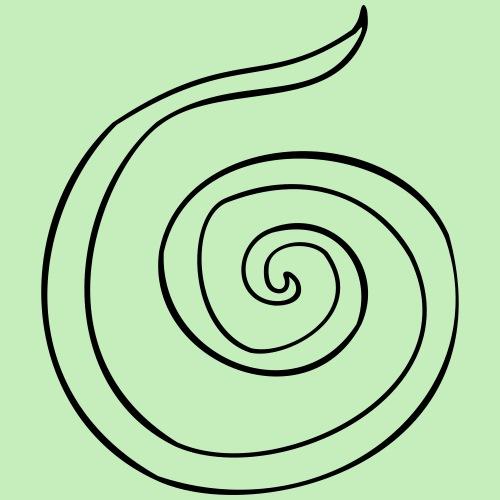 Espiral - Camiseta premium hombre