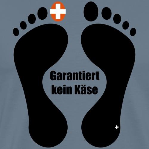 Barfuss-Logo Käse - Männer Premium T-Shirt