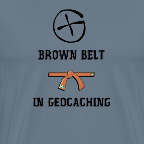 BROWN BELT - T-shirt Premium Homme
