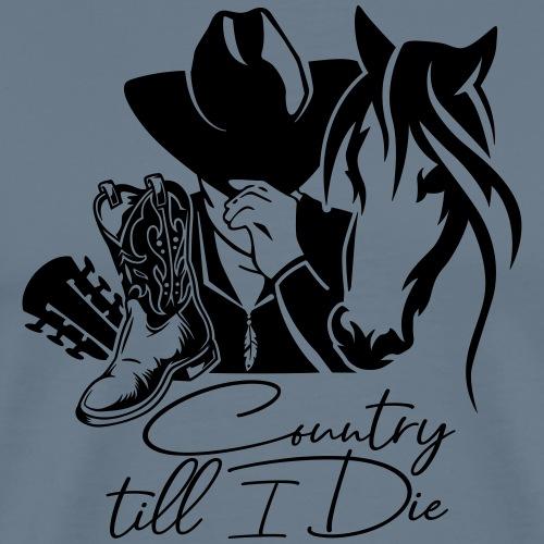 CountryTillIDie - Männer Premium T-Shirt