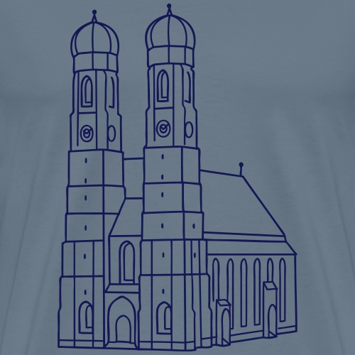 Frauenkirche München - Männer Premium T-Shirt