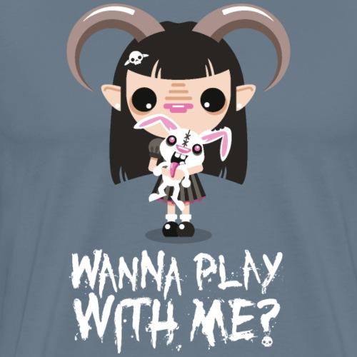 Wanna play with me? - Maglietta Premium da uomo