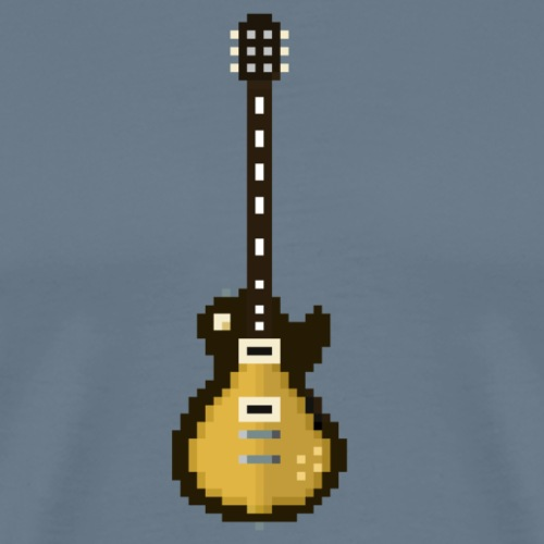 Gibson Les Paul - Signature - pixelart - Men's Premium T-Shirt