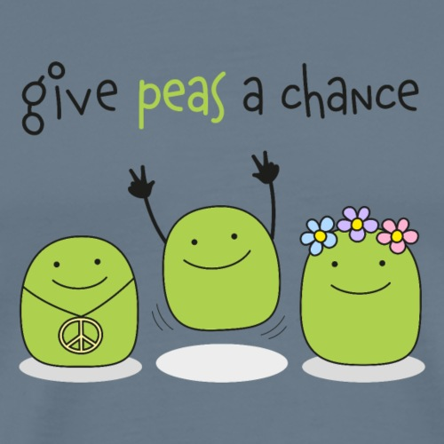 Give peas a chance! - Männer Premium T-Shirt