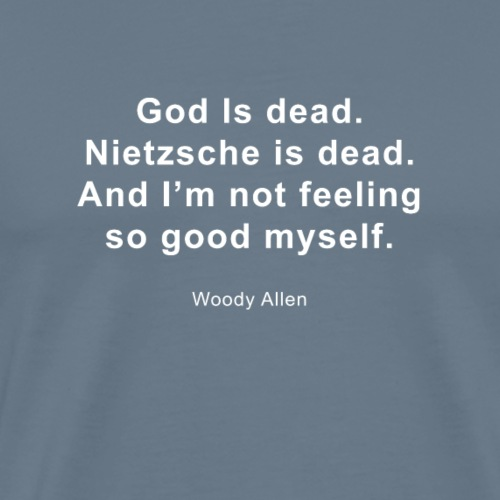 God is dead - Mannen Premium T-shirt