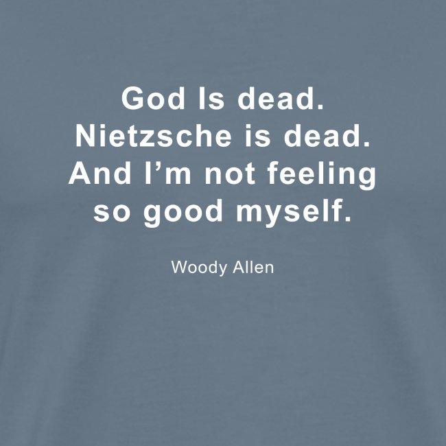 God is dood.