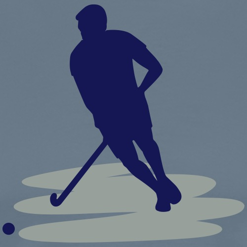 Speler van het Hockey - Mannen Premium T-shirt