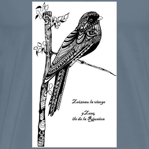 Oiseau la Vierge - T-shirt Premium Homme