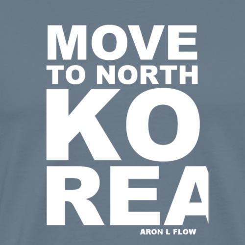 Move to NK white - Männer Premium T-Shirt