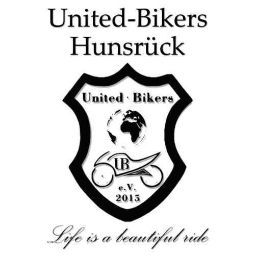 United-Bikers Hunsrück (schwarz) - Männer Premium T-Shirt