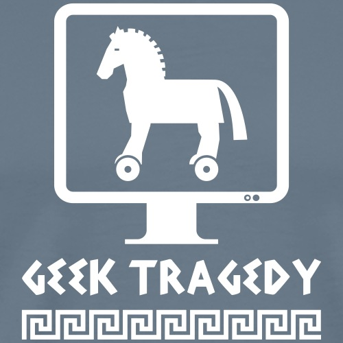 Geek Tragedy - T-shirt Premium Homme