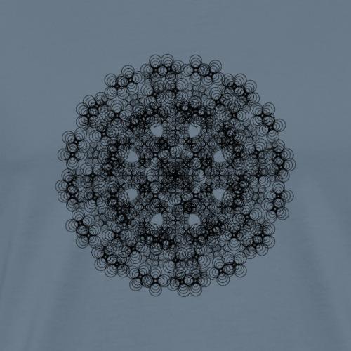 Blomblandning - Premium-T-shirt herr