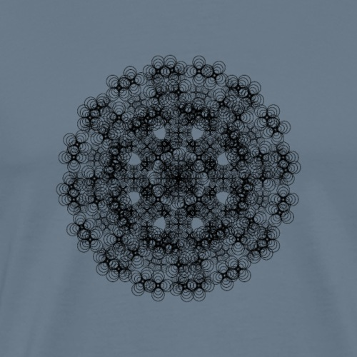 Flower mix - Miesten premium t-paita
