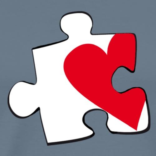 HEART 2 HEART HER - Maglietta Premium da uomo