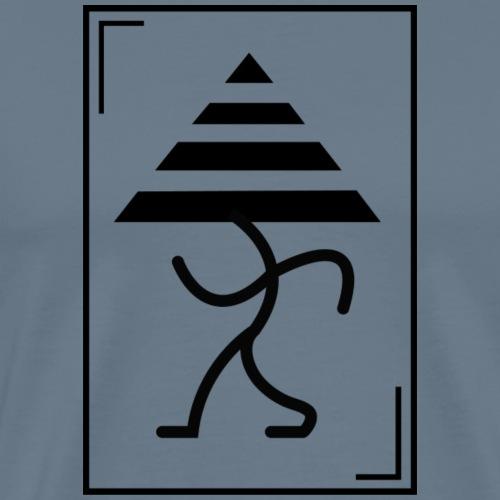 Trian-GLEE - Camiseta premium hombre