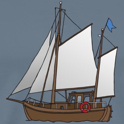 Segelboot Kutter - Männer Premium T-Shirt