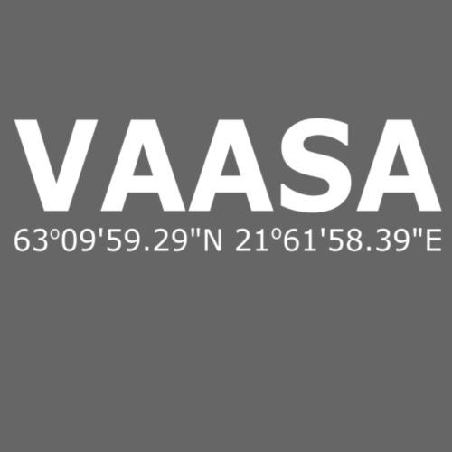 Vaasa Vasa Pituus ja leveyspiirit - Miesten premium t-paita