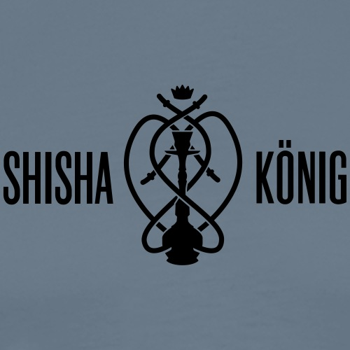 Shisha König Logo - Männer Premium T-Shirt