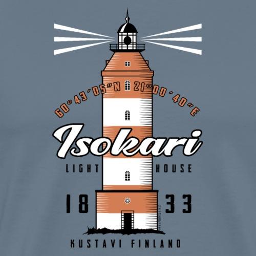 ISOKARI MAJAKKA - Tekstiilit ja lahjatuotteet. - Miesten premium t-paita