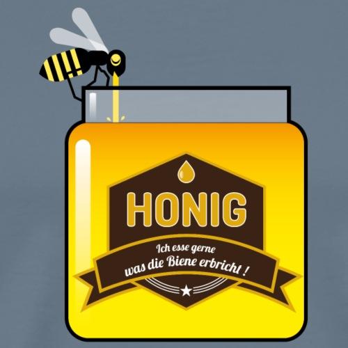 Honig ist lecker - Männer Premium T-Shirt