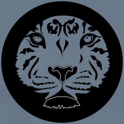 Tigre circulo - Camiseta premium hombre