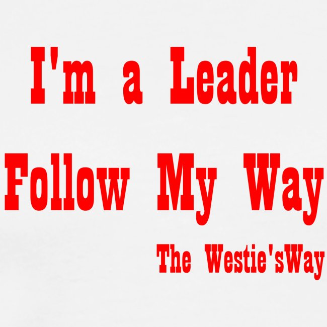 Follow My Way Red
