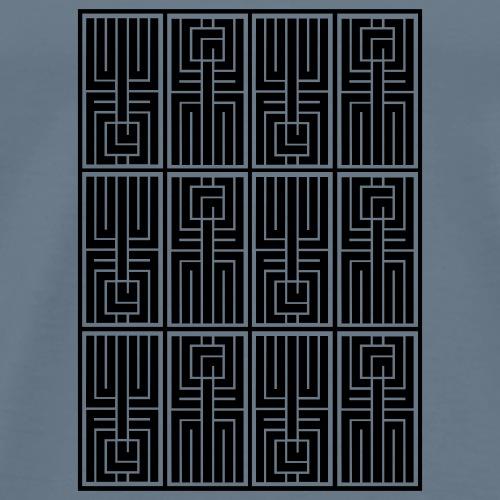 LUFC AZTEC - Men's Premium T-Shirt