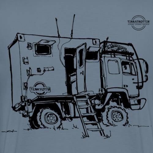 Expedition Truck | Terratrotter® - Men's Premium T-Shirt