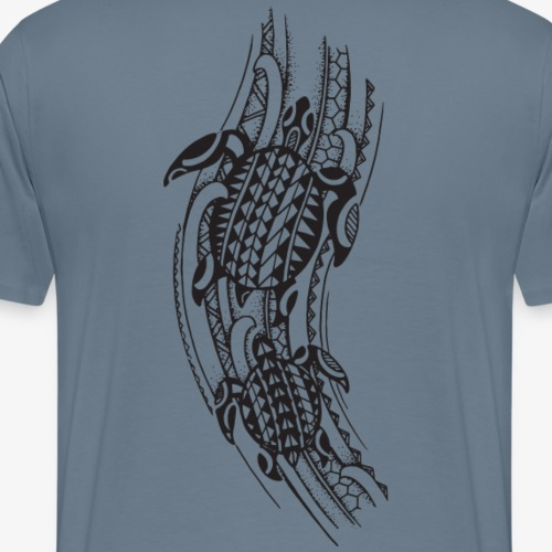 Turtle Maori - Männer Premium T-Shirt