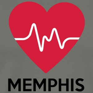 heart Memphis - Men's Premium T-Shirt